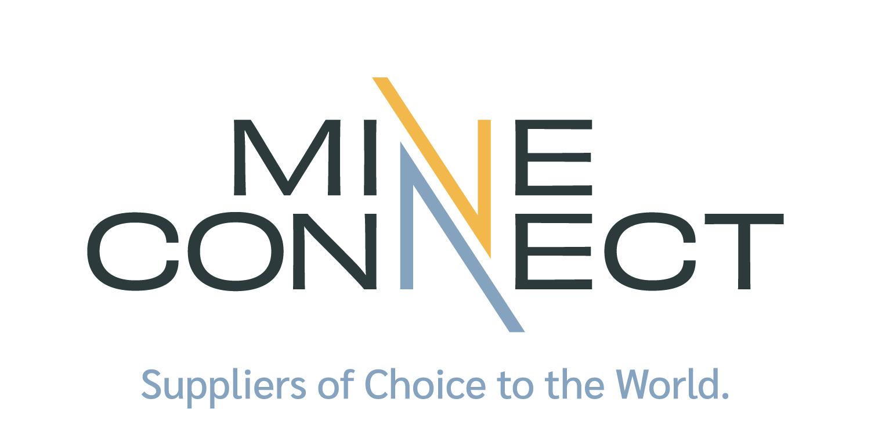 MineConnect Logo World Tagline CMYK
