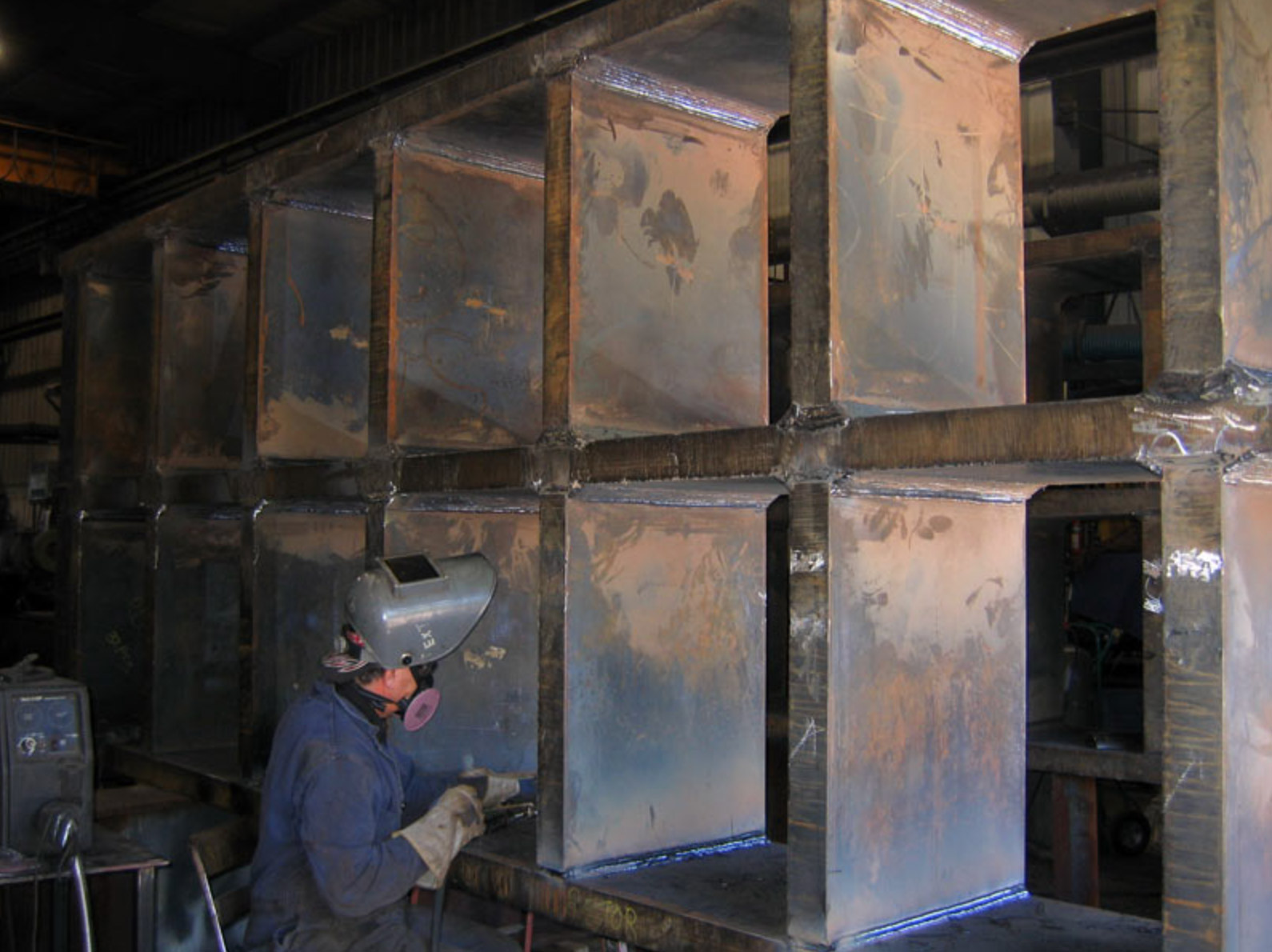 Fabrication of 13 Ton Grizzly for Newmont (Musselwhite)