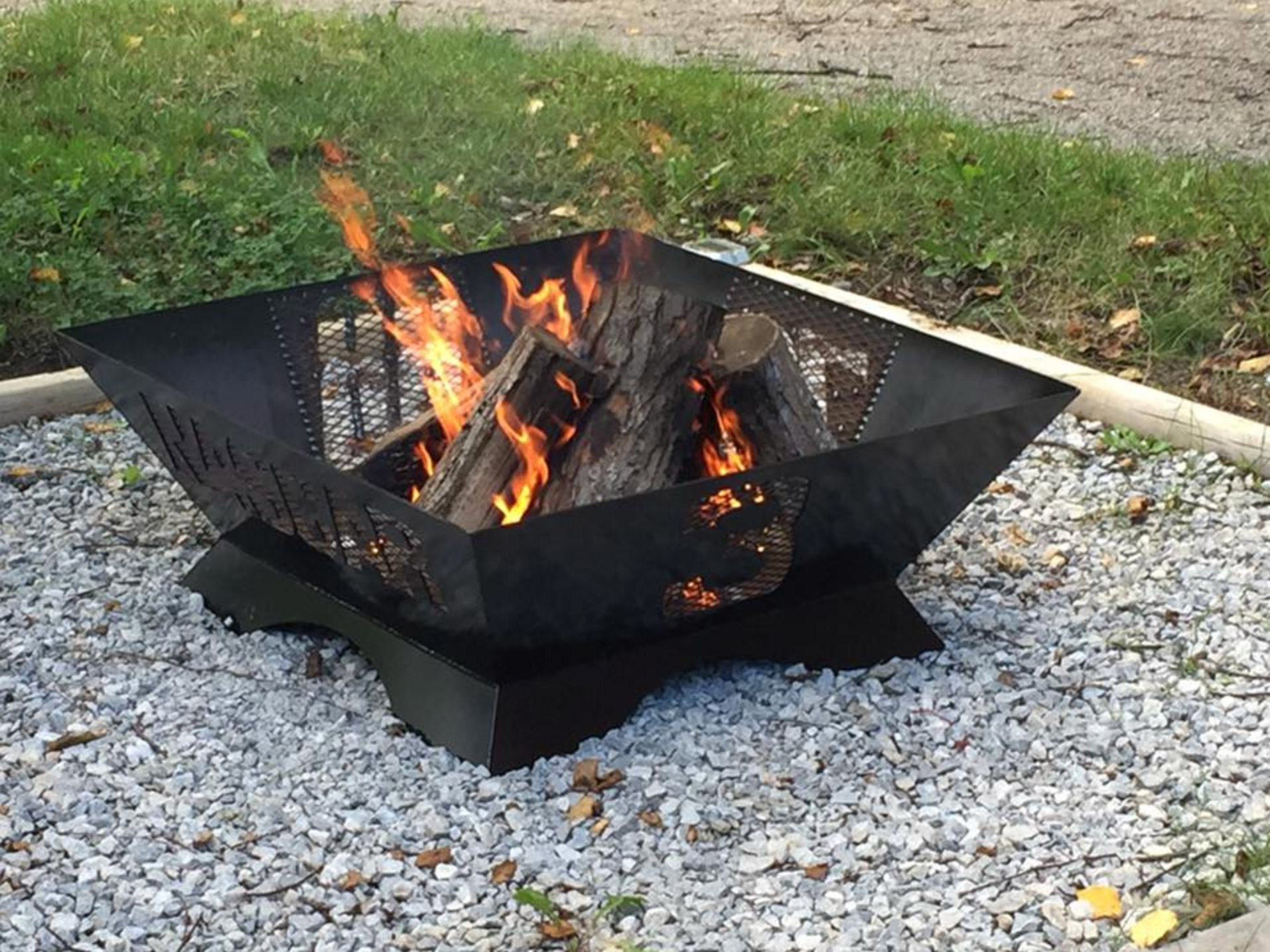 Rector provides customized solutions including steel firepits