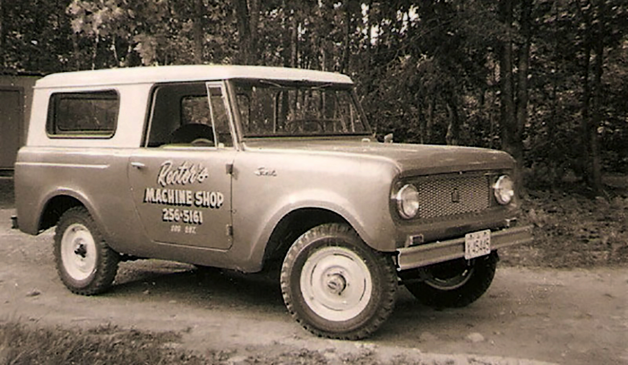 The Original Rector Machine Shop Service Vehicle - a 1964 International Scout