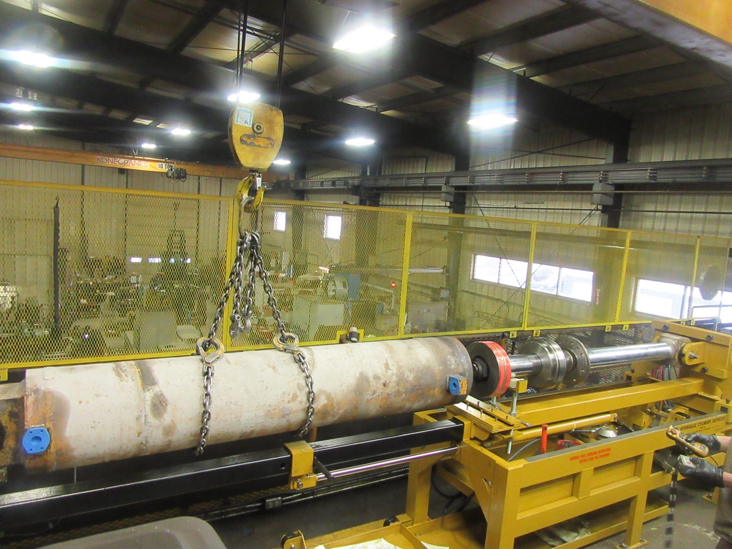 Cylinder manufacturing and repair for Algoma Steel