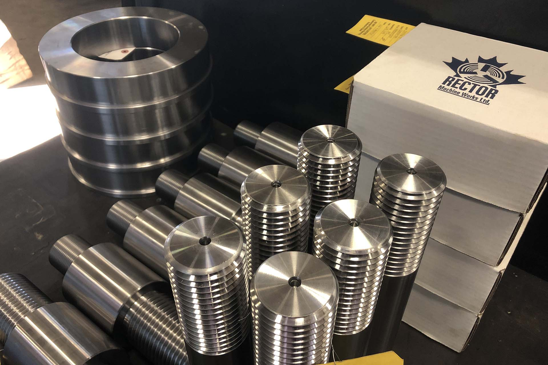 Rector machined products - threaded studs