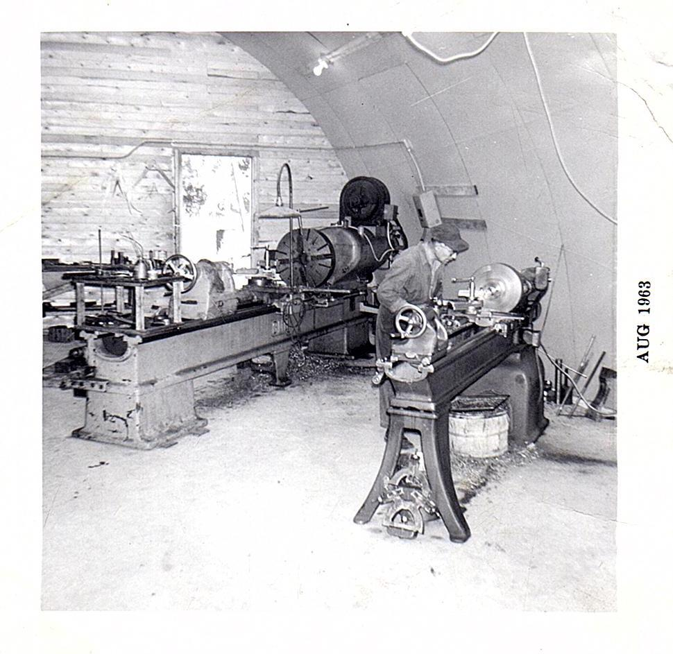 Manual lathes circa 1963