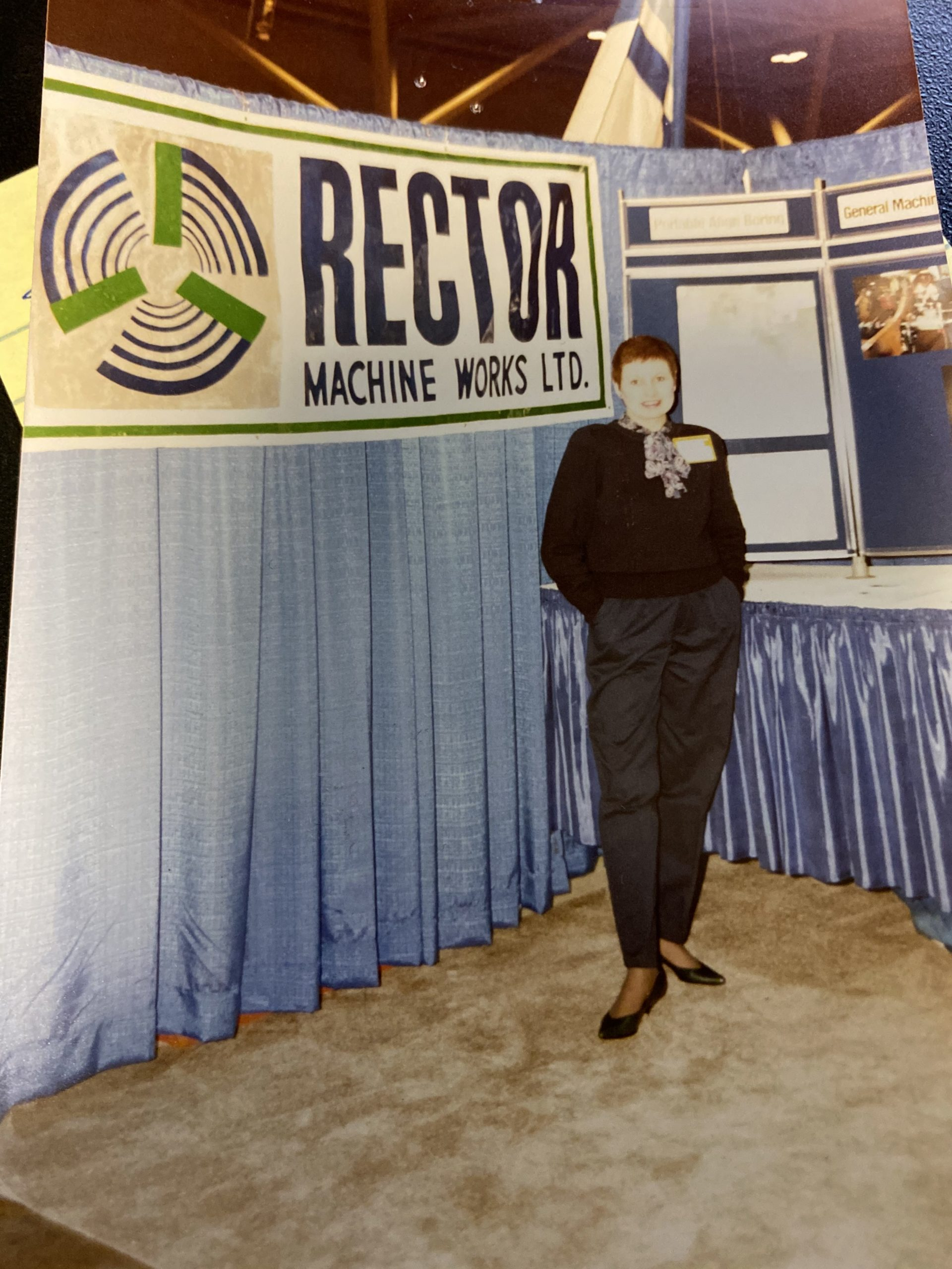 Office manager for almost 50 years, Sandi Rector helped grow the family business from a tiny shop to a leading Northern Ontario company providing welding and machining services across North America