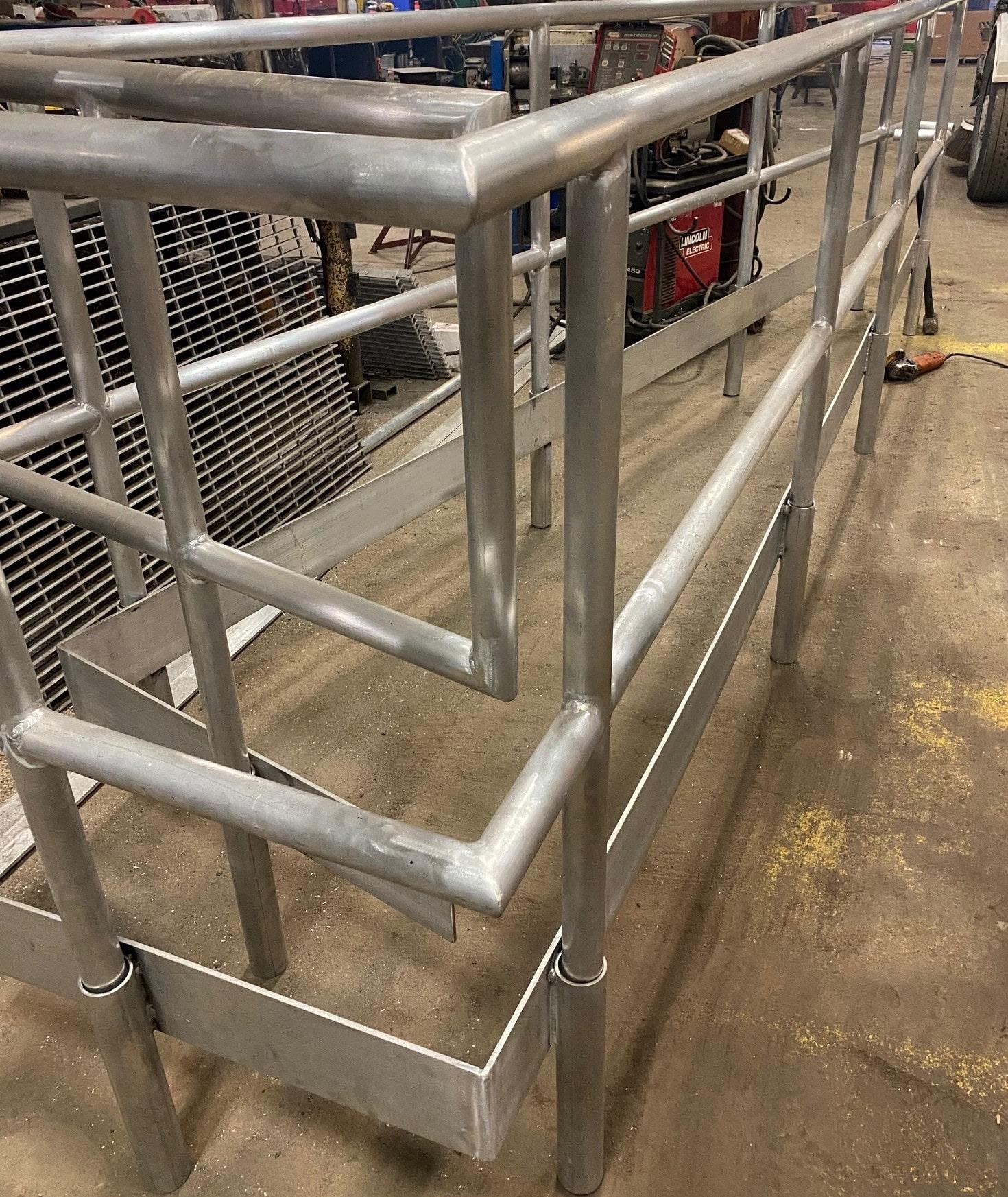 Rector Aluminum Railings