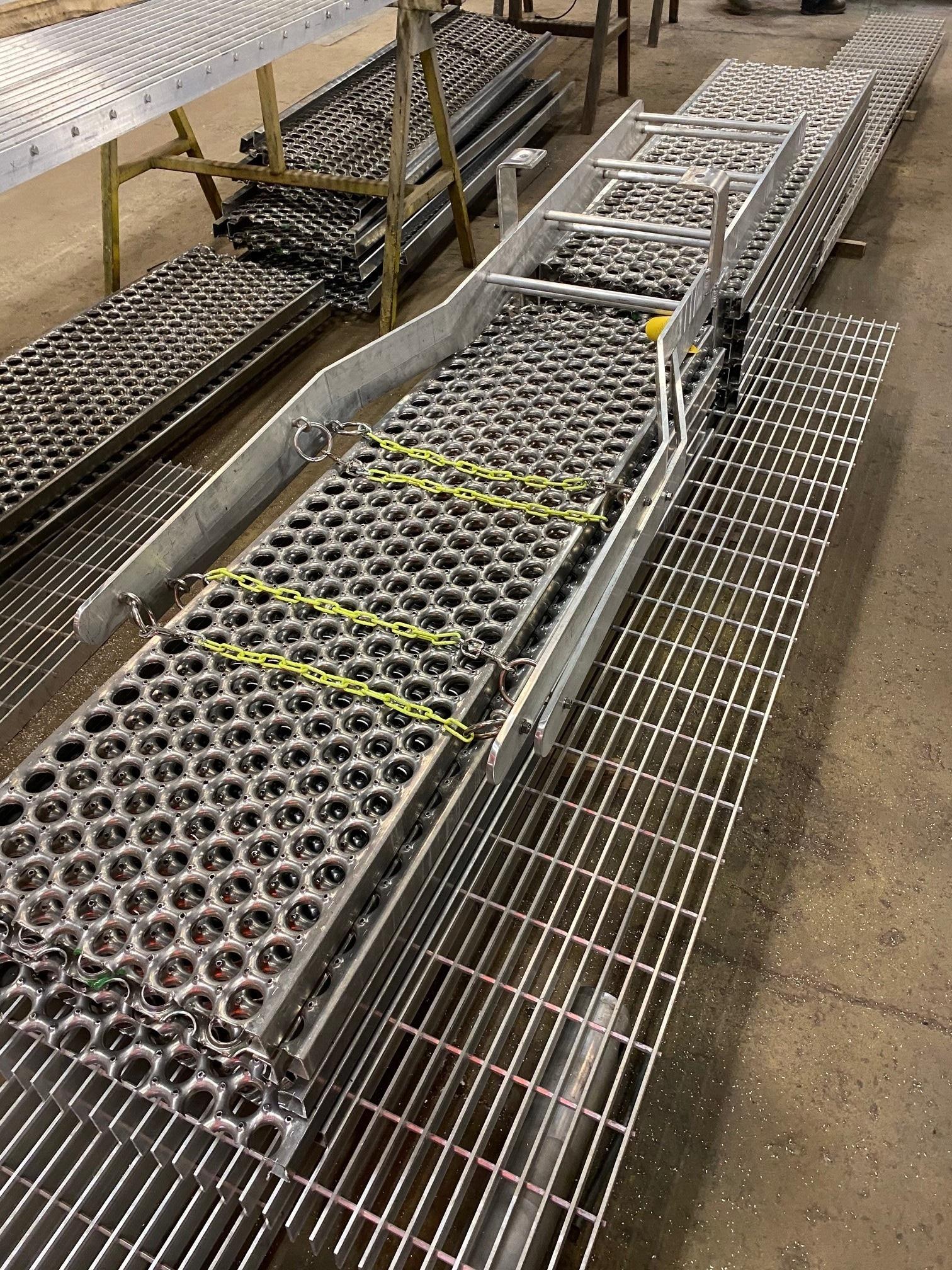Rector Aluminum Catwalks